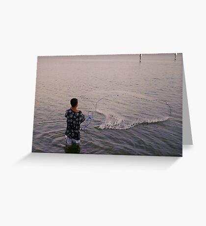 Fishing Greeting Card