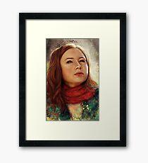 The Girl Who Waited Framed Print