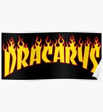 Dracarys - Game of thrones Parody Poster