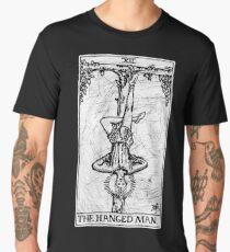 The Hanged Man Tarot Card - Major Arcana - fortune telling - occult Men's Premium T-Shirt
