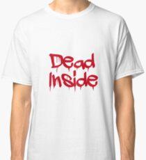 Camiseta clásica Muerto en el interior