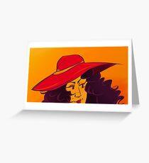 Carmen Sandia Greeting Card