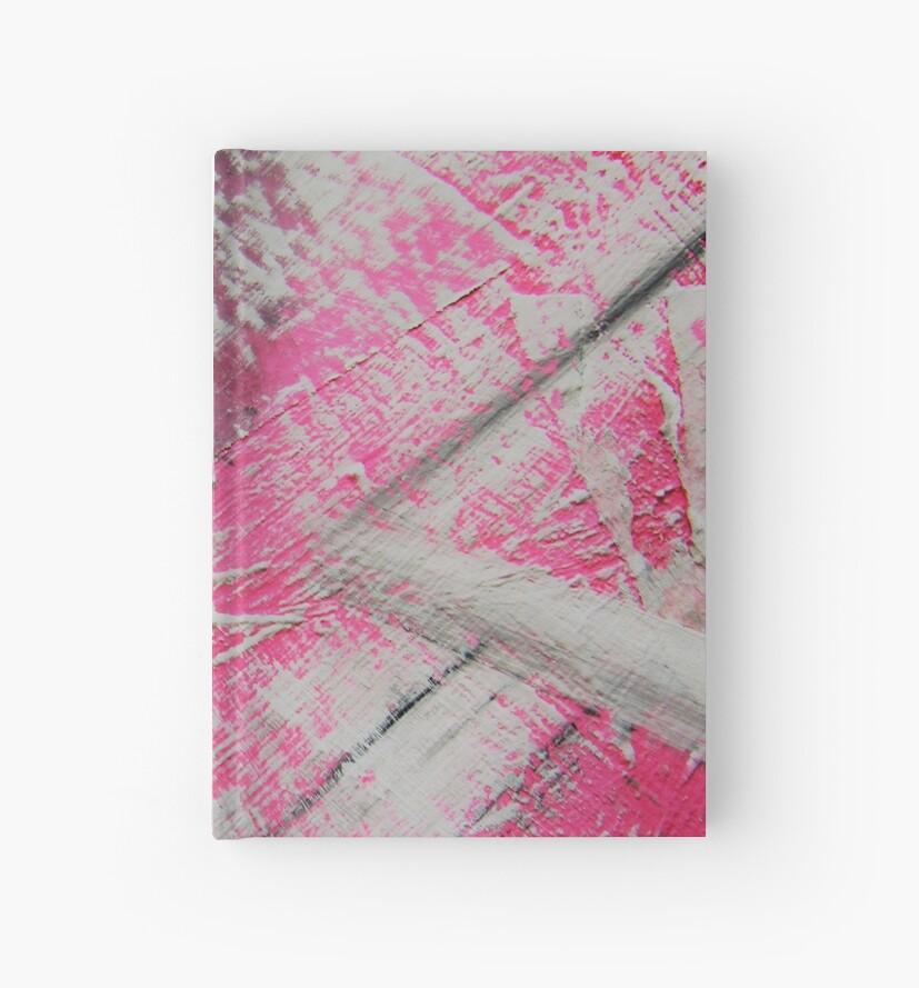Abstrakt Pink White MW Art Marion Waschk von Marion Waschk