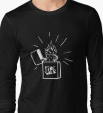 Firewalk Lighter T-shirt- Life is Strange Before the storm Chloe Price T-shirt Long Sleeve T-Shirt