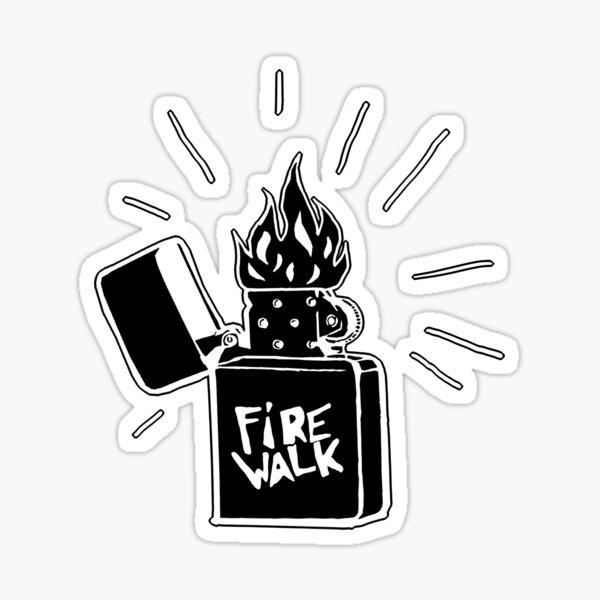Firewalk Lighter T-shirt- Life is Strange Before the storm Chloe Price T-shirt Pegatina