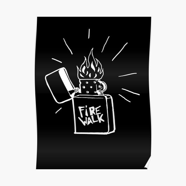 Firewalk Lighter T-shirt- Life is Strange Before the storm Chloe Price T-shirt Poster