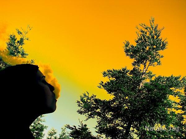 Sunset smoke. by Natalie Jay