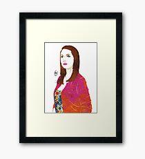 Community: Annie Edison Framed Print
