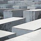 The Holocaust Memorial, Berlin, Germany by David Carton