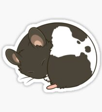 Curled up Sticker
