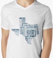 Texas Beer Lovers' Merch (blue) Men's V-Neck T-Shirt
