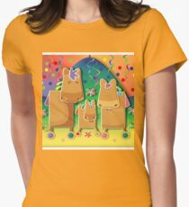 Pinata Party Ponies TShirt Womens Fitted T-Shirt