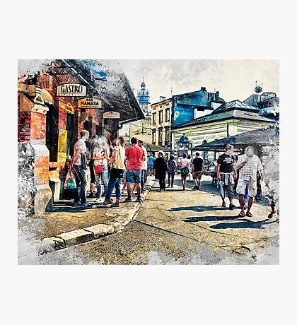 Cracow art 6 Kazimierz #cracow #krakow #city Photographic Print