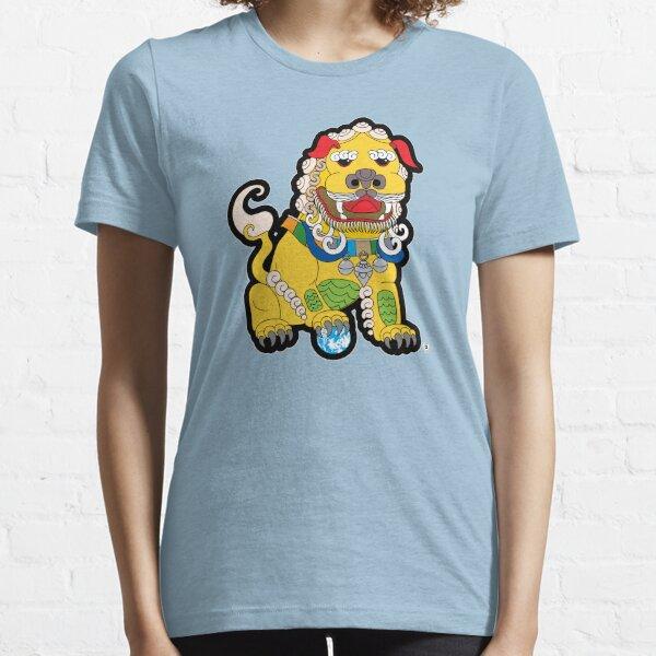 Golden Temple Lion - Male Essential T-Shirt