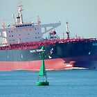 Coal ship Newcastle Harbour - Pacific Triangle by Phil Woodman