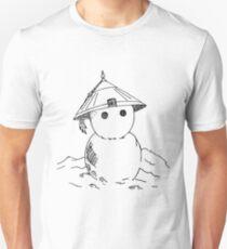 Cute Asian Snowman T-Shirt