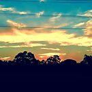 Urban Sunset by Elaine Stevenson