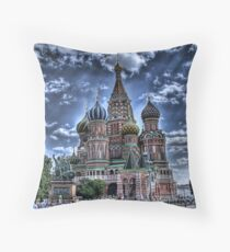 St Basil's Cathedral Throw Pillow