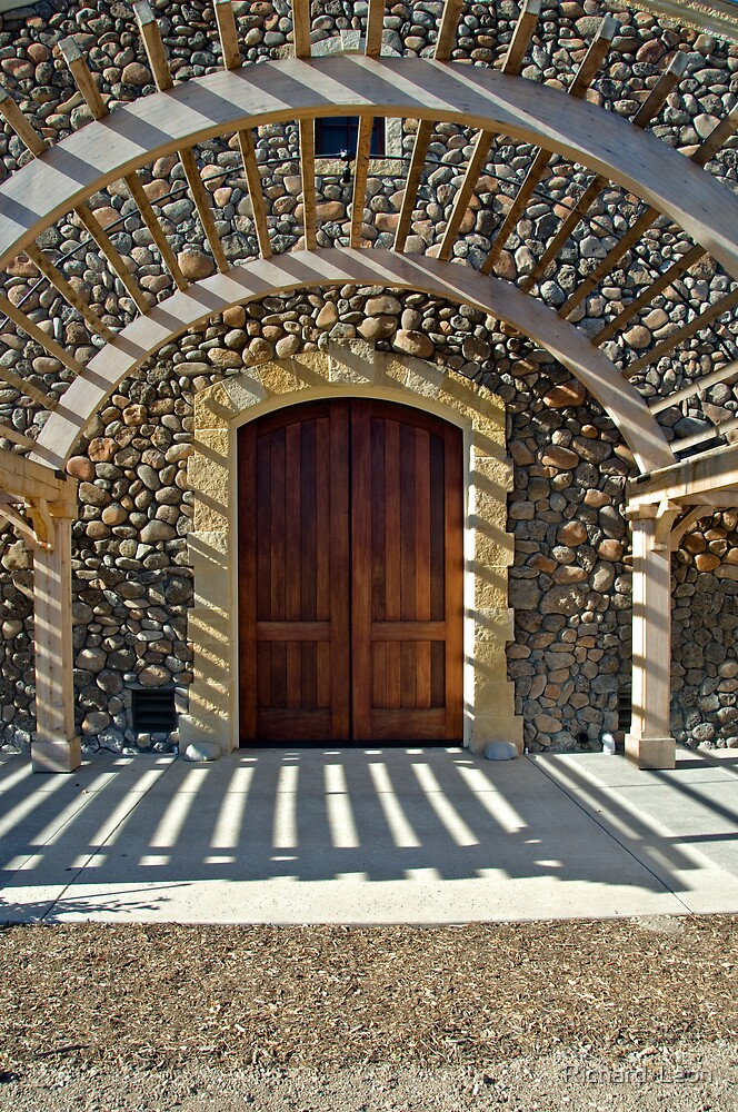Black Stallion Winery, Napa California by Richard  Leon