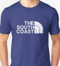 BRIGHTON HOVE ALBION FOOTBALL CLUB TRIBUTE PRINT - THE SOUTH COAST / NORTH FACE T-Shirt