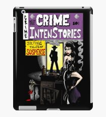Crime Intenstories iPad Case/Skin