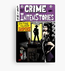 Crime Intenstories Canvas Print