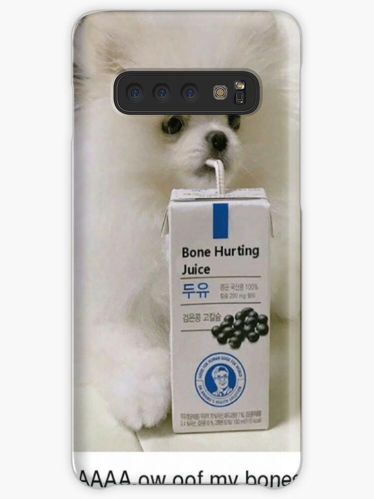 """""""Bone Hurting Juice Meme - Dog"""" Cases & Skins for Samsung ..."""