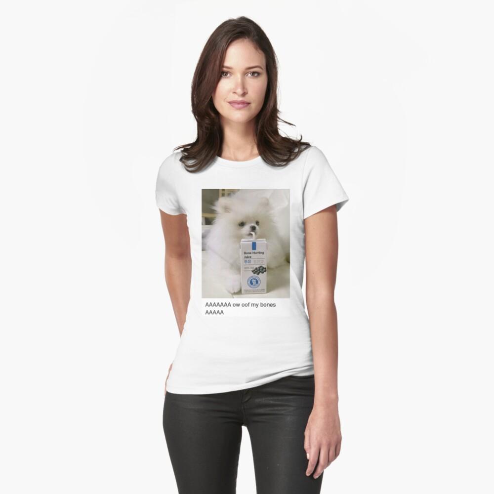 """""""Bone Hurting Juice Meme - Dog"""" T-shirt by Balzac   Redbubble"""