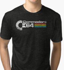 Retro Commodore 64 Tri-blend T-Shirt