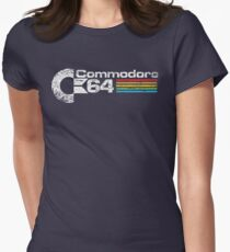 Retro Commodore 64 Women's Fitted T-Shirt