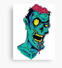 Zombie Brains Canvas Print
