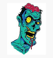 Zombie Brains Photographic Print