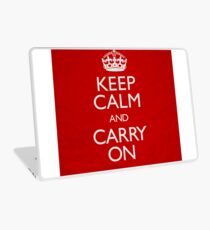 Keep Calm and Carry On Laptop Skin
