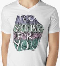 too young Mens V-Neck T-Shirt