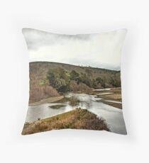 Murrumbidgee River Throw Pillow