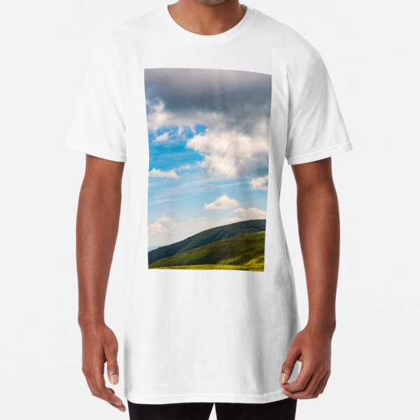 beautiful late summer landscape in carpathians  Long T-Shirt