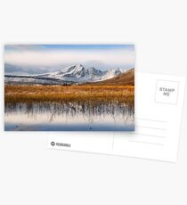 Blaven, Reeds and Snow. Isle of Skye. Scotland. Postcards