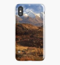 The Five Sisters of Kintail. North West Highlands of Scotland. iPhone Case