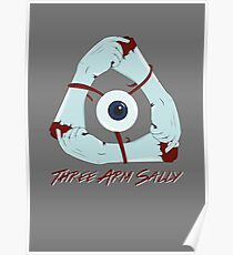Three Arm Sally Poster