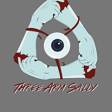 Three Arm Sally by CrowCragg