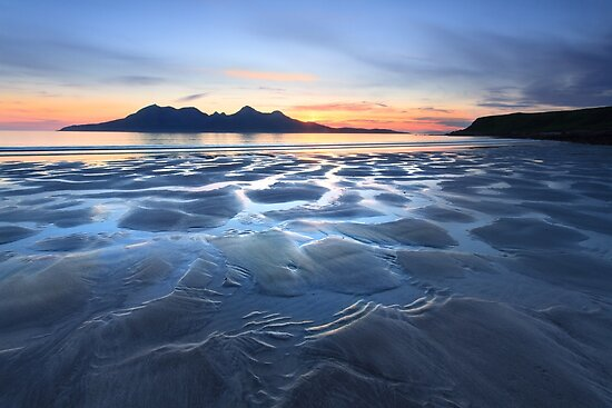 Laig Bay Blues. Isle of Eigg. Scotland. by Barbara  Jones ~ PhotosEcosse