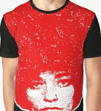 Angela Davis ~ Fight for your rights / Red Graphic T-Shirt