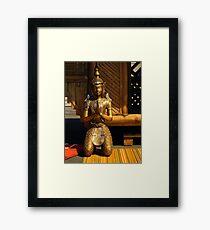 Buddha At Peace Framed Print