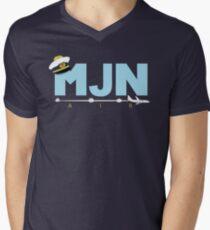 MJN Air  Men's V-Neck T-Shirt