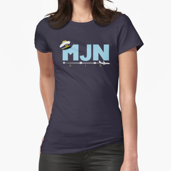 MJN Air  Fitted T-Shirt