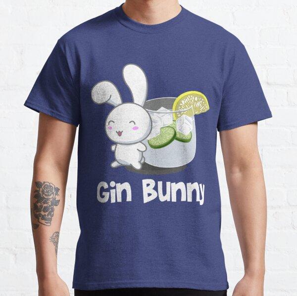 Gin Bunny - Parody of Gym Bunny Funny T-Shirt Classic T-Shirt