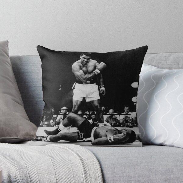 Muhammad Ali noquea a Sonny Liston Cojín