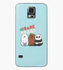 We Bare Bears Cartoon - Baby Bear Cubs - Grizz, Panda, Ice Bear - With Logo Case/Skin for Samsung Galaxy