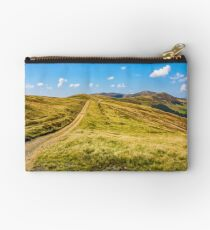 path on high altitude alpine hills Studio Pouch