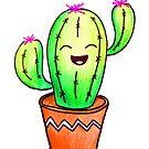 Happy Cactus! by mikiex